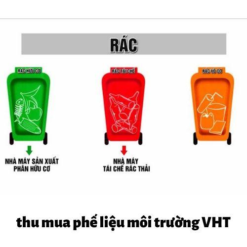 Phân loại rác tại nhà