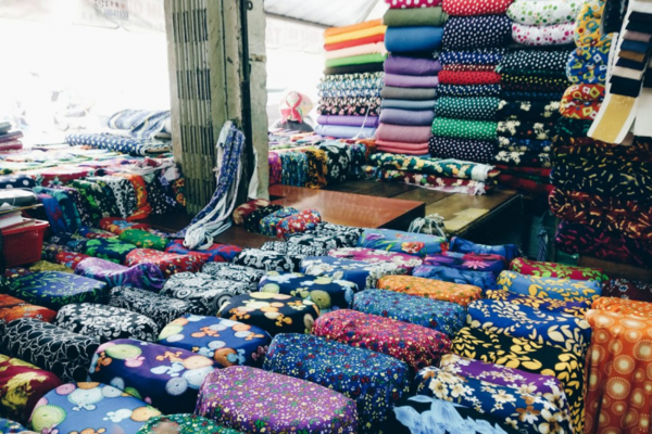 thu mua phế liệu vải tại kho